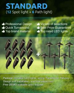 landscape lighting packages