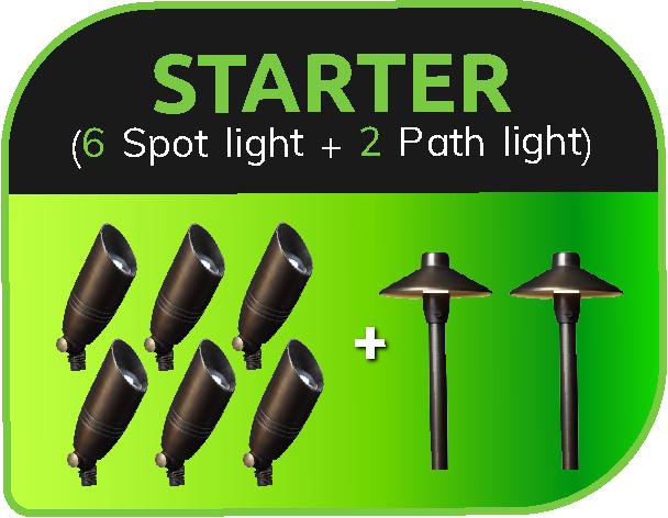 LVpro lighting - LED landscape lighting starter package