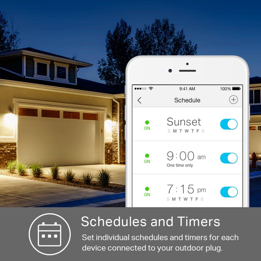 smart landscape lighting